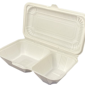 two compartment food conatiner